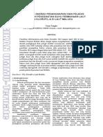 Agrikan Volume 7 Edisi 1-74-81_Umar Tangke_Pendugaan Daerah Penangkapan IKan Pelagis Berdasarkan Pendekatan Suhu Permukaan Laut Dan Klorofil-A Di Laut Maluku