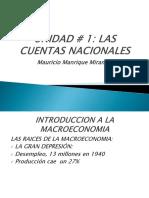 Unidad # 1. Las Cuentas Nacionales.