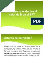 Factores de corrección del valor de N del SPT.pptx