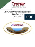 RivCross Operating Manual 1.02