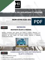 capacitacion NOM-020-STPS