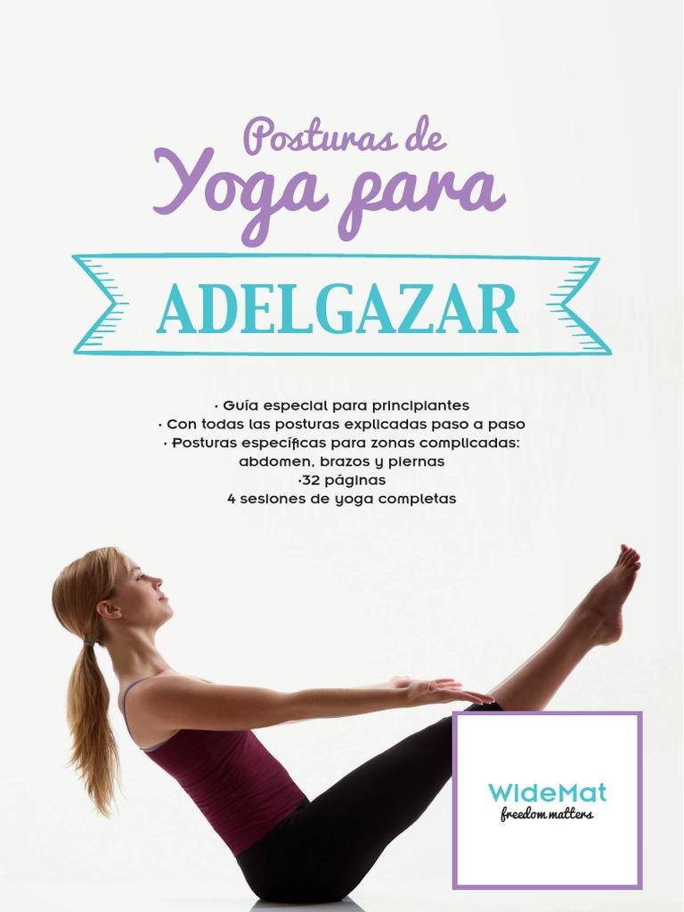 yoga para principiantes para adelgazar pdf