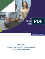 Servicio Al Cliente y Tecnologia de La Informacion