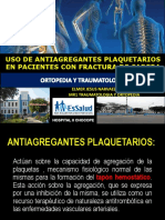 Antieagregantes en artroplastia