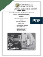 Ciencia de Materiales - Aplicaciones en La Ingenieria