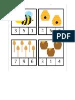 Cartillas de numeros