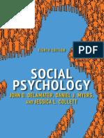 Social Psychology Delamater John Srg Pdf Attitude Psychology