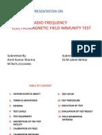 Radiated,Rf Immunity Test
