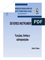 Deveres Instrumentais