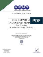 The Repair of Induction Motors