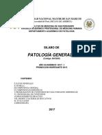 Aprobado Silabo Patologia General II