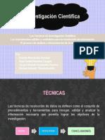Técnicas Instrumentos e Interpretación-Investigación Científica