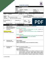 Plan de Clase Gagne 2015 Diario Informática II