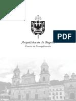 Plan de Evangelización Arquidiócesis de Bogotá