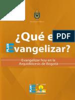 Que Es Evangelizar