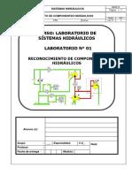 Lab 01 - Identificación de Componentes Hidráulicos - 2017.1