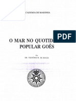 O Mar No Quotidiano Popular Goês