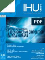 IHUOnline O Desgoverno Biopolítico Da Vida Humana