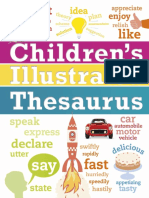 Illustrated Thesauru - Dorling Kindersley