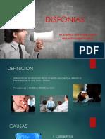 disfonias