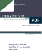 Escalas wechsler-interpretacion