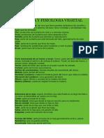 Anatomia y Fisiologia Vegetal