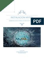 Instalacion Mysql