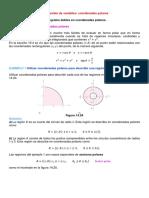 Secc 14.3, Cambio de Variables, Coordenadas Polares