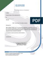 Carta de Presentación AMV