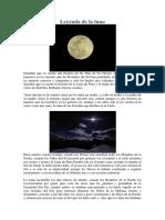 Leyenda de La Luna