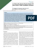 Genome Sequence of Brucella Abortus Vaccine Strain S19