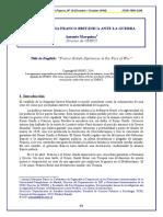 MARQUINA BARRIO.- La Diplomacia Franco Britanica Ante La Guerra