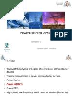 Diseño de circuitos de potencia - Mosfet