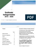 Hotelstars Kritériumok 2015 2020 HU