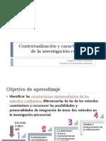 Fundamentos Epistemológicos de I. Cualitativa