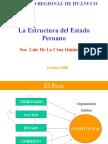 b Laestructuradelestadoperuano 120523140532 Phpapp02