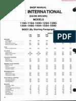 David Brown 1390 Manual