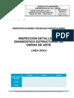 Proyecto de Pliego de Especificaciones Tecnicas - Gr-Vo-et-024 Inspecion Obras de Arte - Rev 01