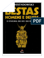 Bestas Homens e Deuses - Ferdinand Ossendowski