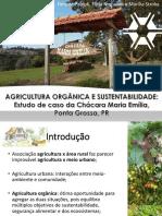 Trabalho de Agroecologia - estudo de caso