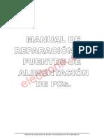 Manual Para Reparacion Fuentes Alimentacion PC
