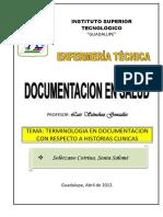 Terminologia en Documentacion