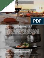 Gastronomia Región Central