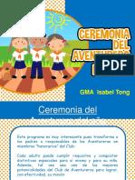 1 Ceremonia Aventurero Del Año e Investidura Gma
