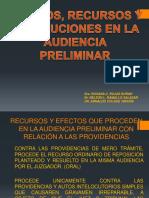 8.- Efectos,Recursos y Resoluciones en La Audiencia Preliminar