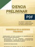 7.- AUDIENCIA PRELIMINAR