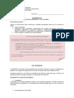 8º Gramática, Sintaxis y Sustantivos_guía