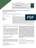 BARKER, Kezia. Influenza Preparedness and Bureaucratic Reflex