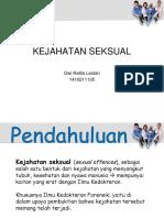 Kejahatan Seksual Idk Raf