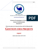 S5 - Gestion Des Projets - Résumé
